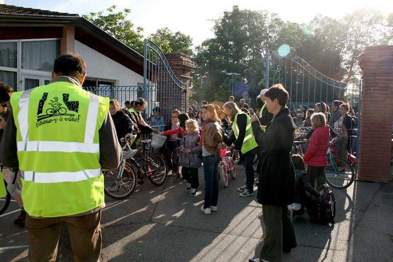 Allons-y à vélo 2014 - Elémentaire du centre