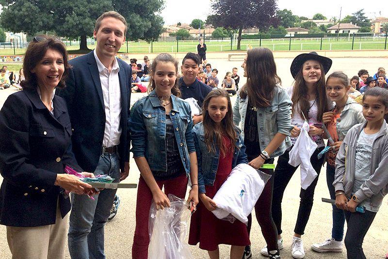 Allons-y à vélo 2015 - Collège Jacques MAURE