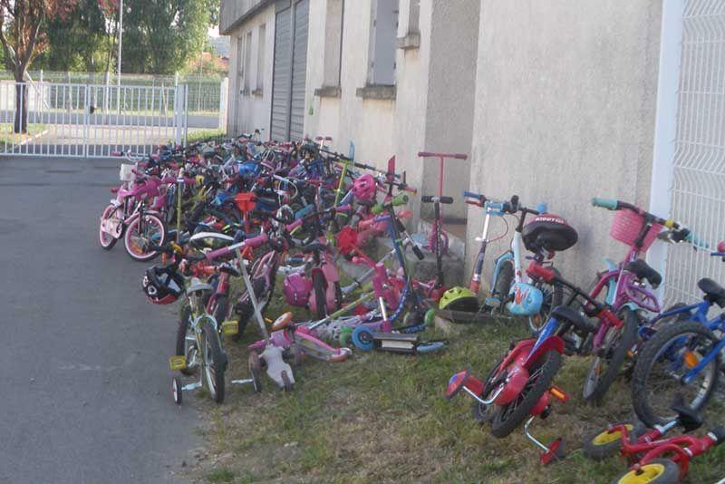 Allons-y à vélo 2015 - Maternelle de Buffebiau