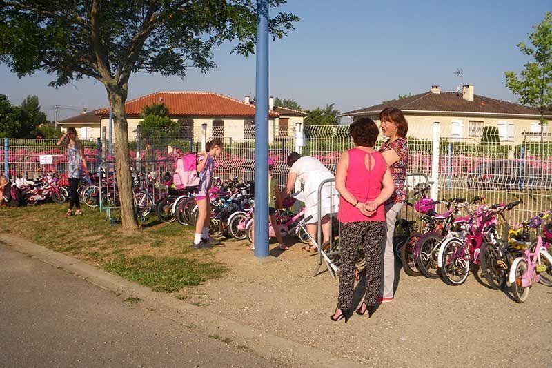 Allons-y à vélo 2015 - Elémentaire de Buffebiau